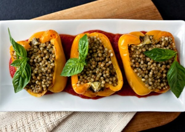 Corn Stuffed Squash