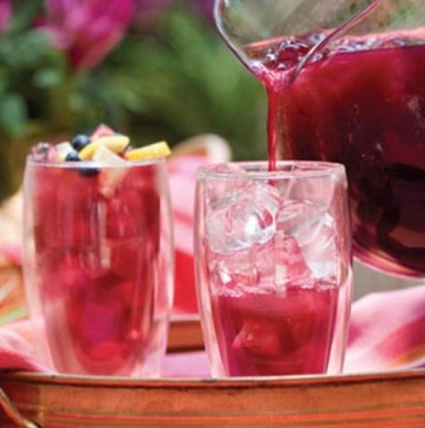 Blueberry & Lemon Iced Tea