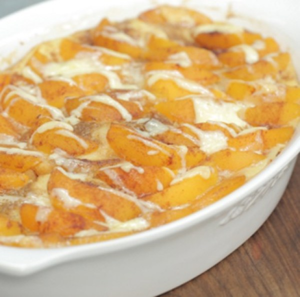 Peaches-and-Cream French Toast