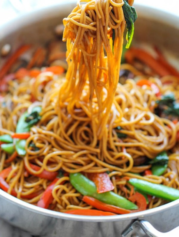The Worlds Easiest Lo Mein