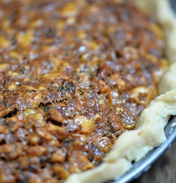 Toffee Pecan Pie