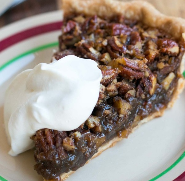 Bourbon & Ginger Pecan Pie