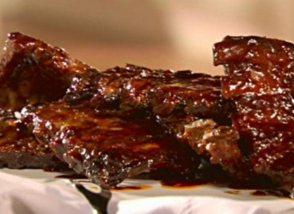 Honeyed Spare Ribs