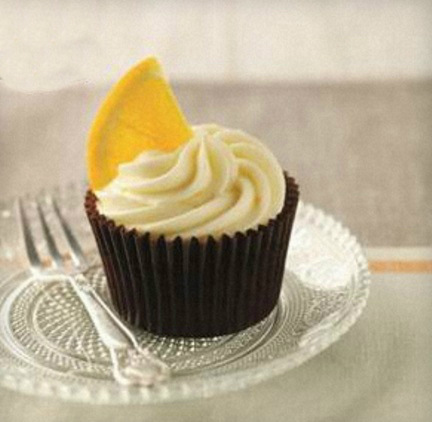 Orange Blossom Cupcakes