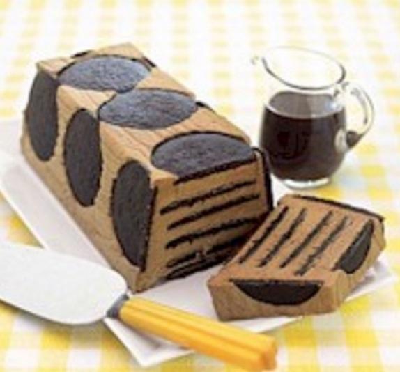 Chocolate Wafer Mocha Icebox Cake