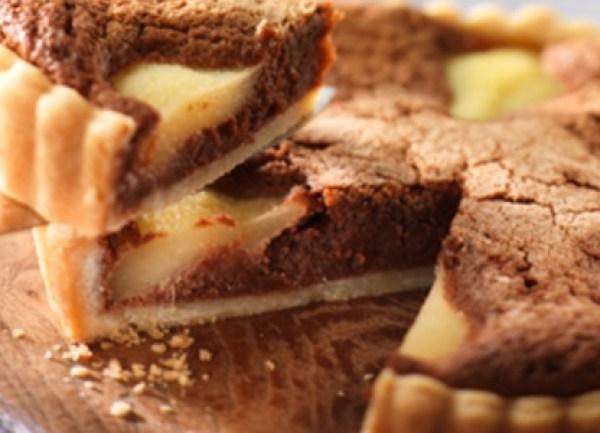 Cadburys Dairy Milk Pear & Chocolate Tart