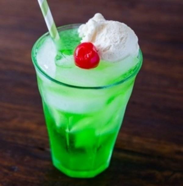 Ice Cream Melon Soda
