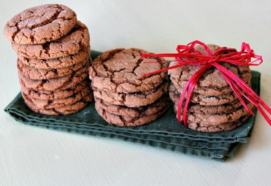 Hot and Spicy Gingersnap Biscuits