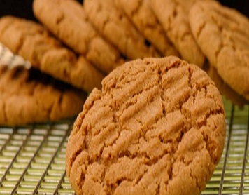 Peanut Butter & Gingersnap Biscuits
