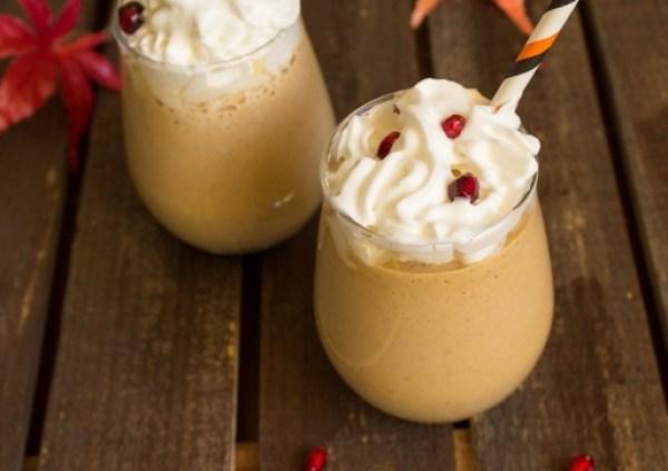 Pumpkin Coffee Milkshake