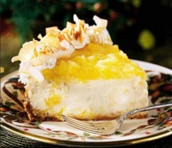 Piña Colada Cheesecake
