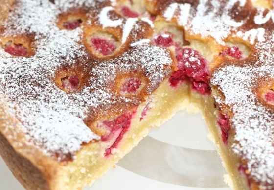 Frangipane & Raspberry Tart