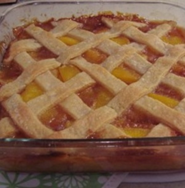 Classic Two Crust Peach Pie