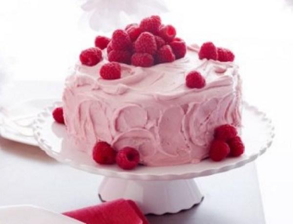 Orange and Raspberry Cake