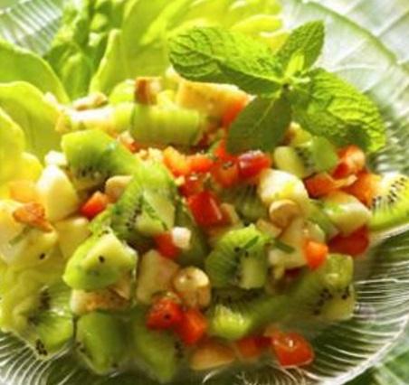 Banana & Kiwi Salad