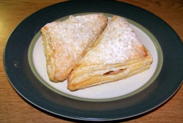 Rhubarb & Cherry-Turnovers