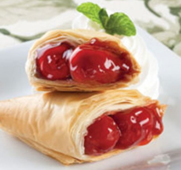 Cherry Phyllo Turnover