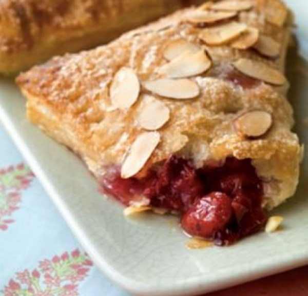 Almond & Cherry Turnovers