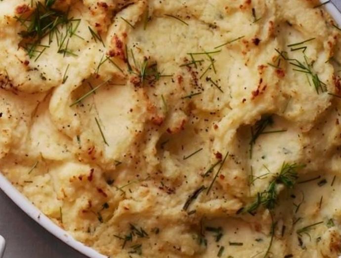 Buttermilk & Boursin Mashed Potatoes