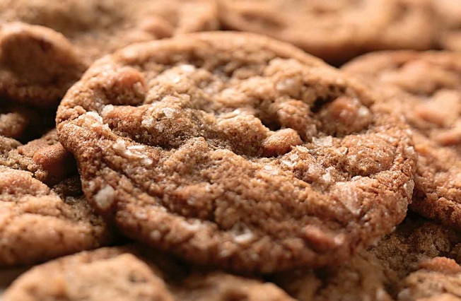 Salty & Sweet Butter Pecan Cookies