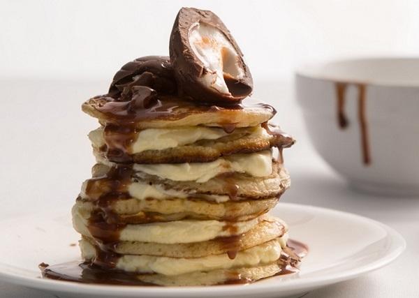 Creme Egg Pancakes