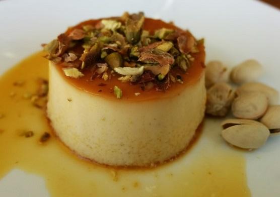 Parsi Style Caramel Custard