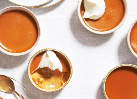 Burnt-Caramel Custard