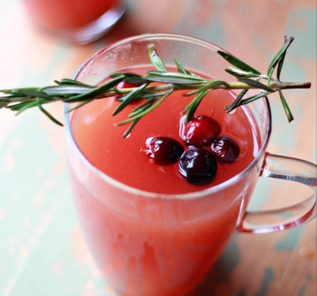 Cranberry Mulled Cider