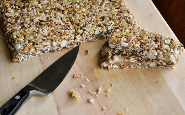 Macadamia Nut Granola Bars
