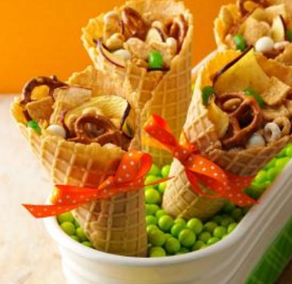 Apple Snack Mix Cone
