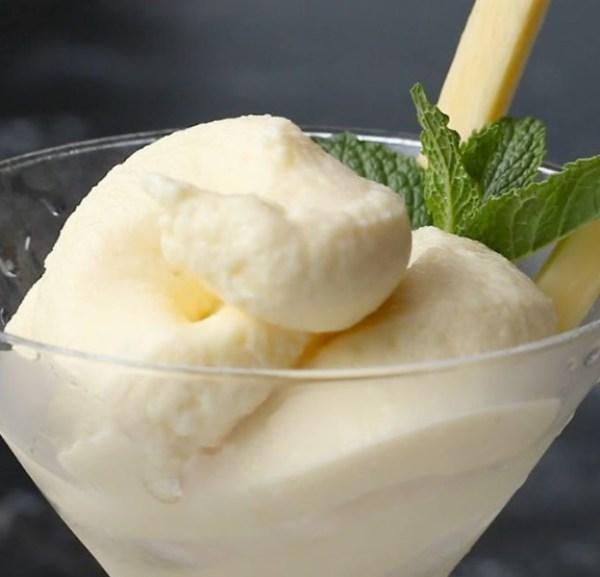 Vodka Pineapple Soft-Serve