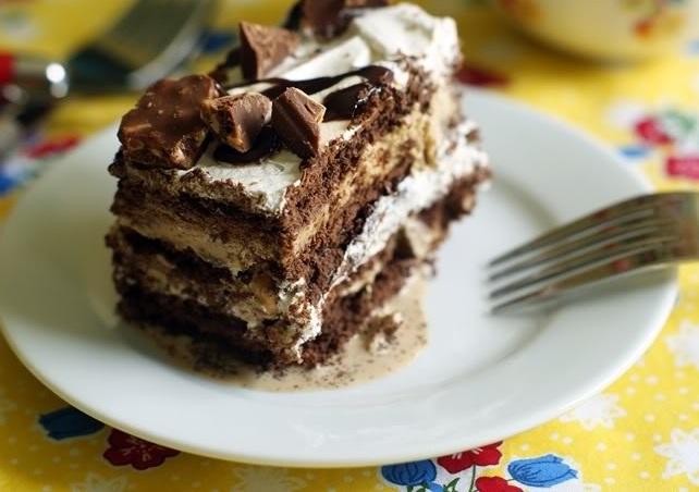 Coffee Ice Cream Dream Cake