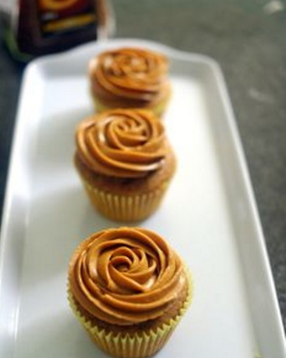 Coffee Cupcakes With Coffee Buttercream