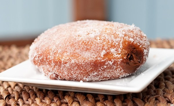 Nutella Cream Filled Donuts