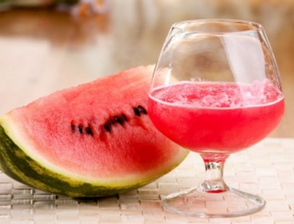 Watermelon Champagne Punch