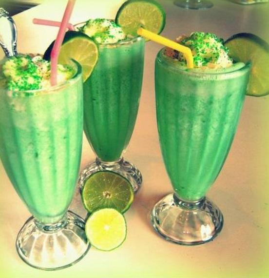 Lime Milkshake