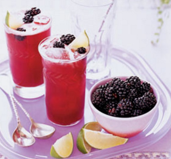 Blackberry Limeade