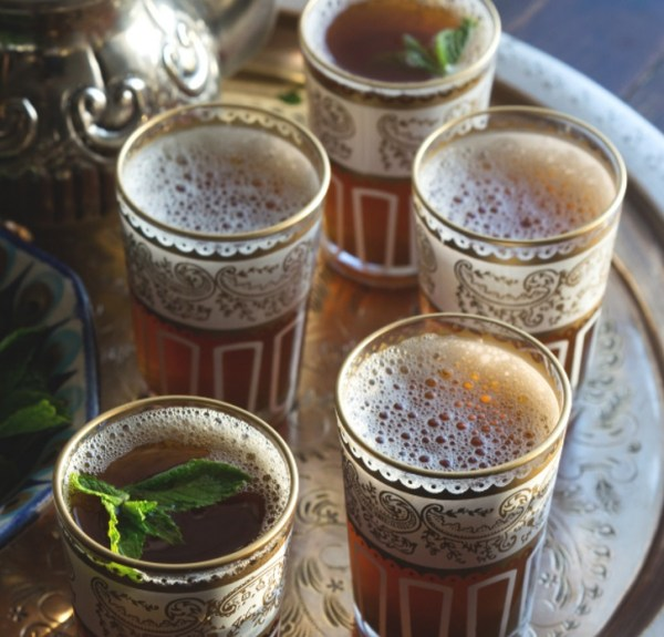 Homemade Moroccan Mint Tea