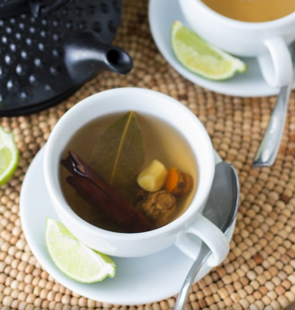 Homemade Caribbean Herbal Tea
