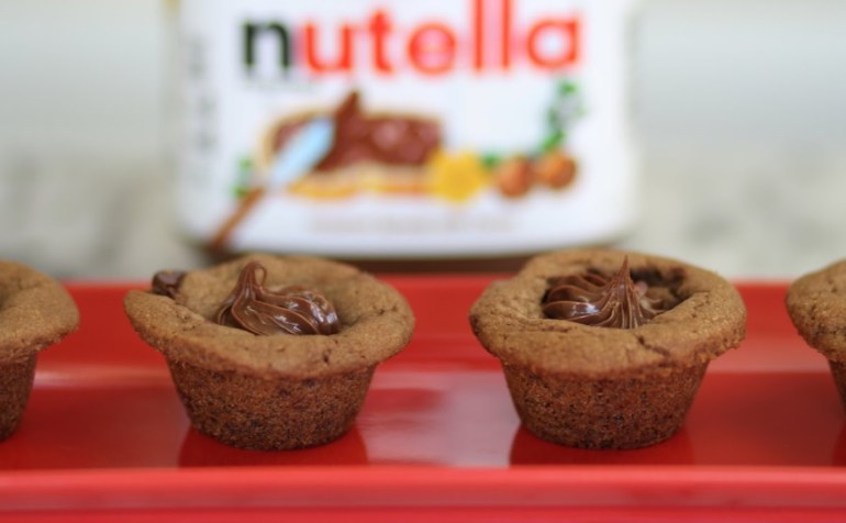 Nutella Cookie Bites