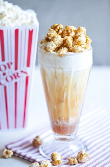 Cracker Jack Caramel Popcorn Milkshake