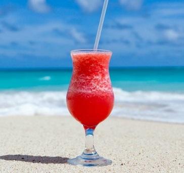 Strawberry, Lemonade & Vodka Slushie