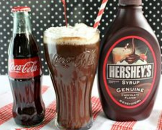 Vintage Chocolate Coke-Cola