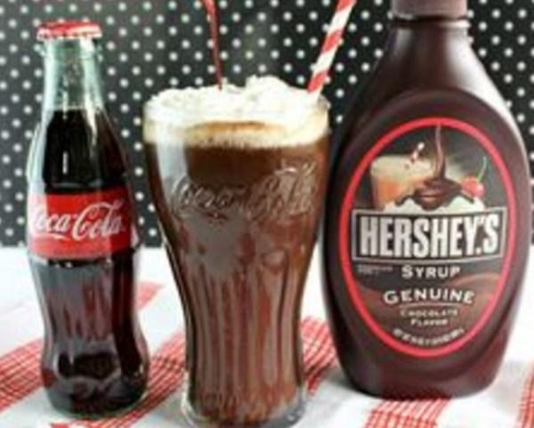 Vintage Chocolate Coke-Cola