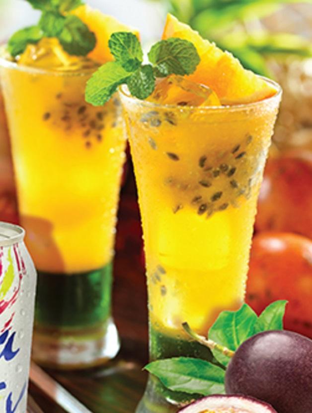 Passionfruit Daiquiri Mocktail