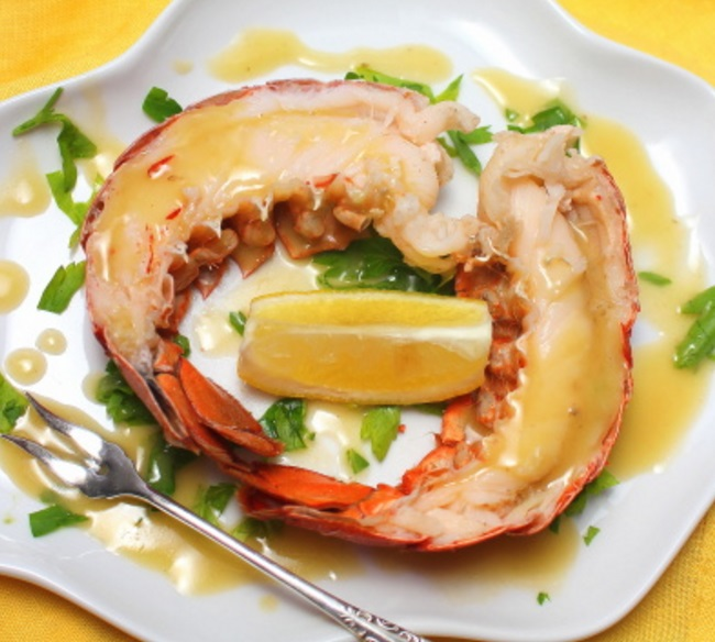 Lobster With Brandy Butter