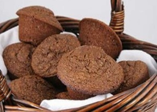 Moist Molasses Bran Muffins