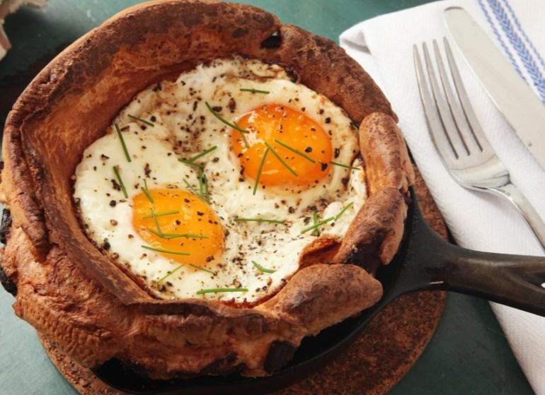 Breakfast Yorkshire Puddings
