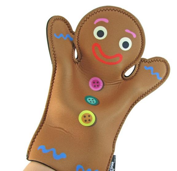 Gingerbread Oven Gloves