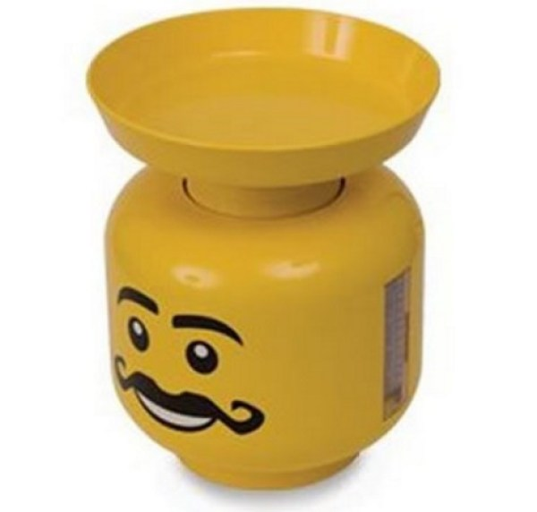 Lego Head Kitchen Scales